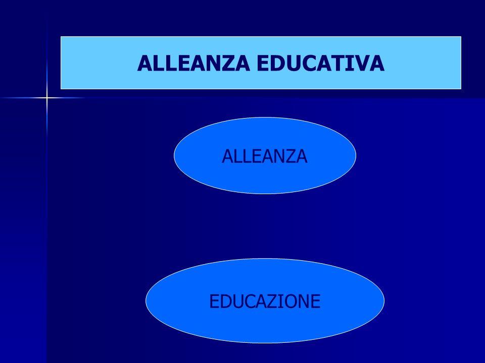 ALLEANZA EDUCATIVA ALLEANZA EDUCAZIONE