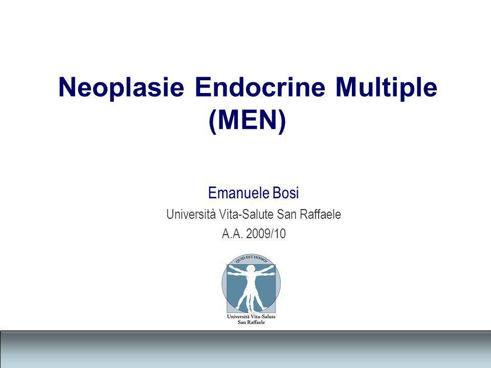 Neoplasie Endocrine Multiple (MEN)