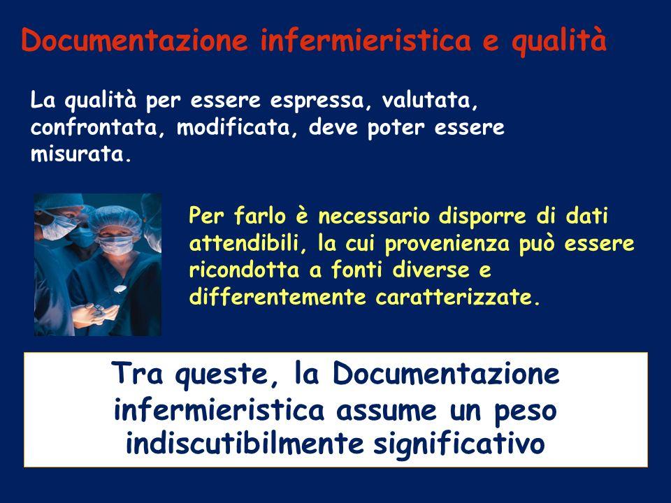 Documentazione infermieristica e qualità