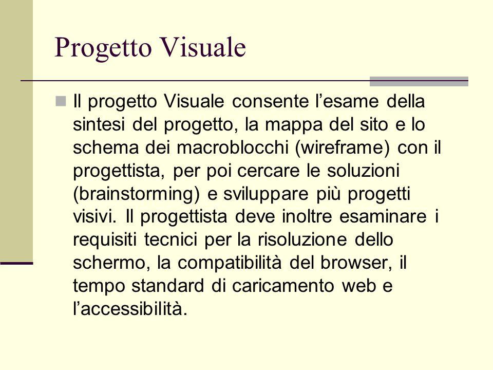 Progetto Visuale