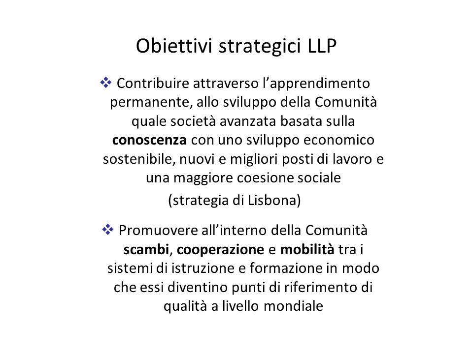Obiettivi strategici LLP