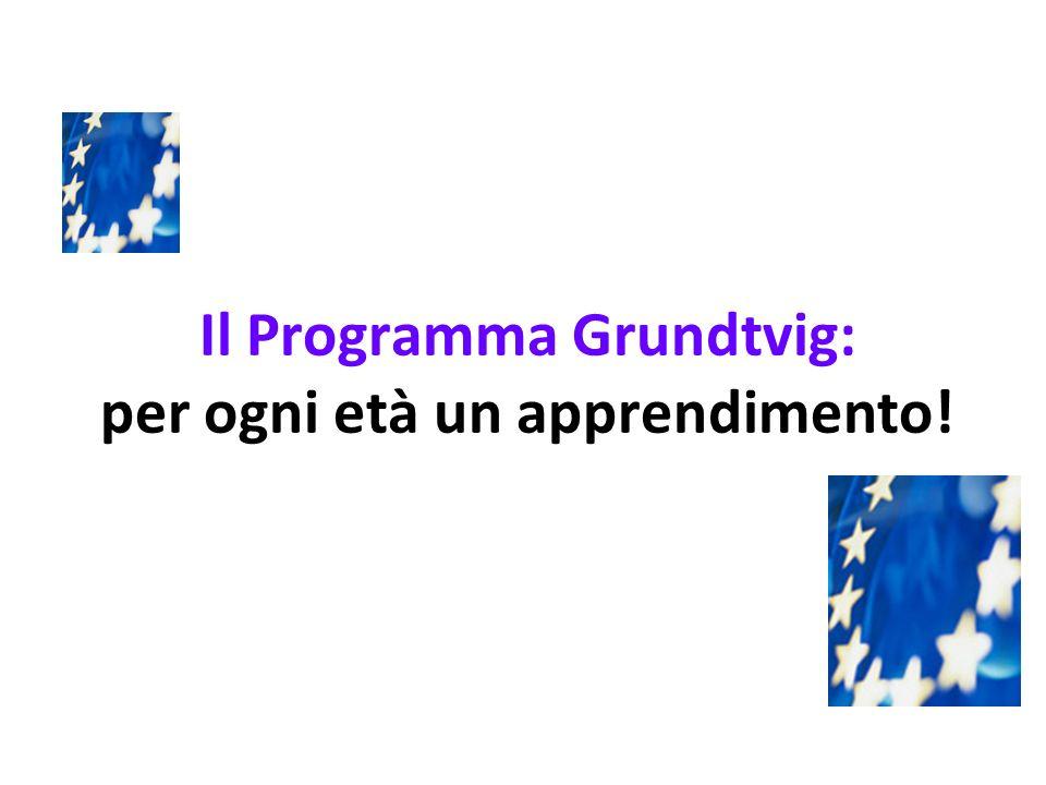 Il Programma Grundtvig: per ogni età un apprendimento!