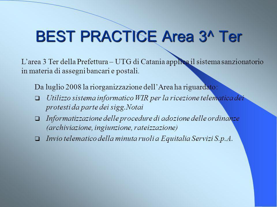 BEST PRACTICE Area 3^ Ter