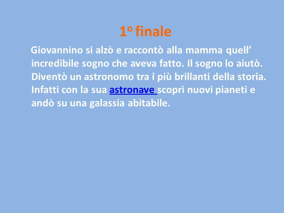 1o finale