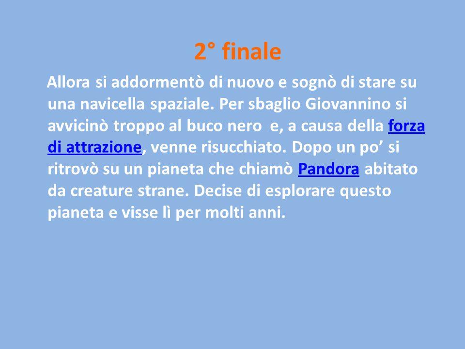 2° finale