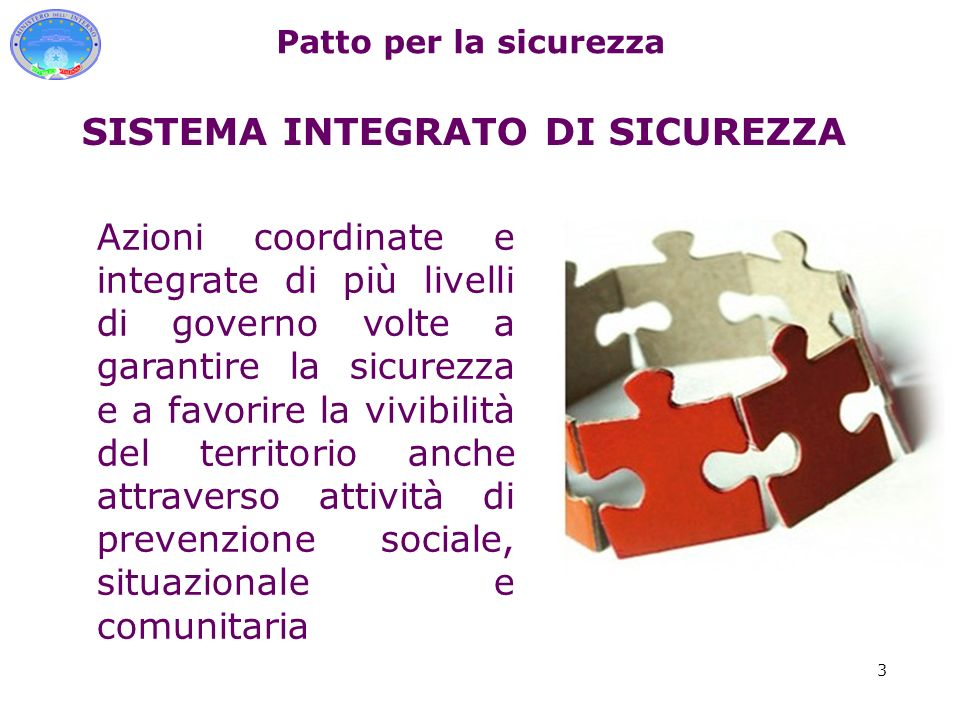 SISTEMA INTEGRATO DI SICUREZZA