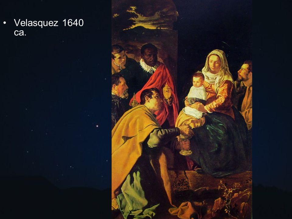 Velasquez 1640 ca.