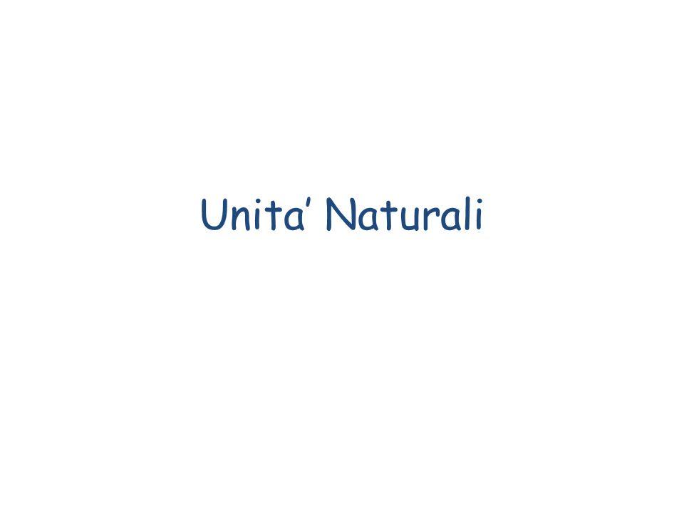 Unita' Naturali