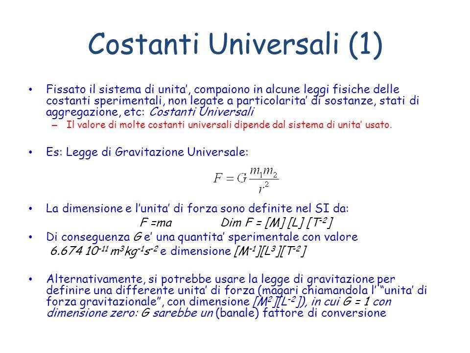Costanti Universali (1)