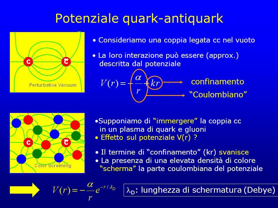 Potenziale quark-antiquark