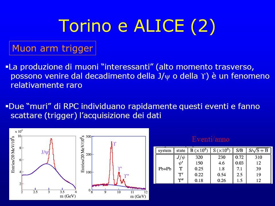 Torino e ALICE (2) Muon arm trigger