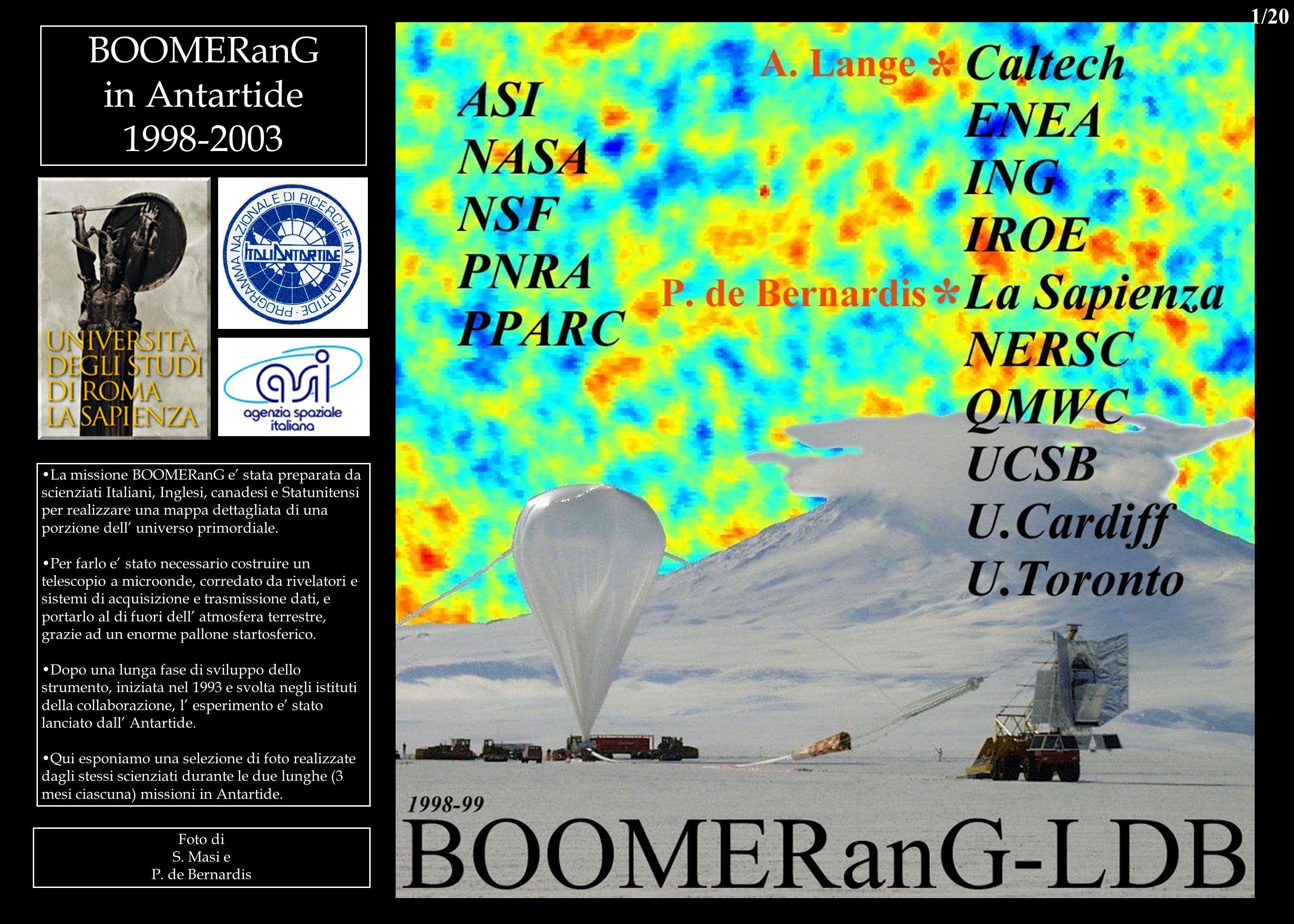 BOOMERanG in Antartide 1998-2003 1/20