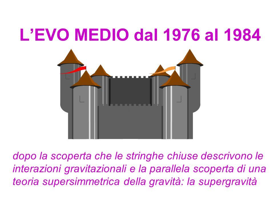L'EVO MEDIO dal 1976 al 1984
