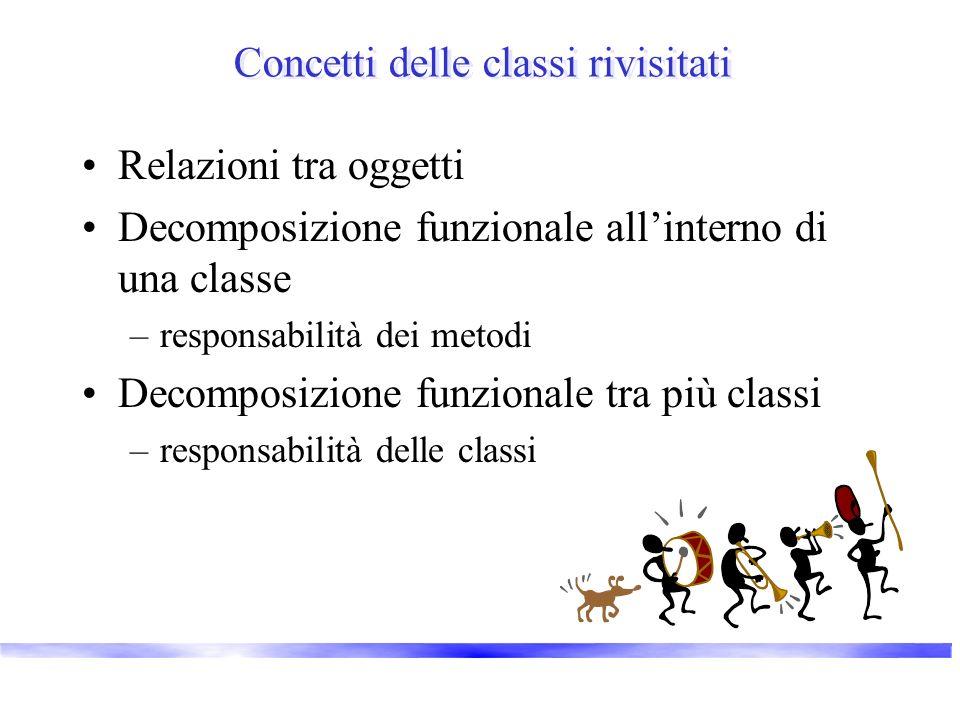 Concetti delle classi rivisitati