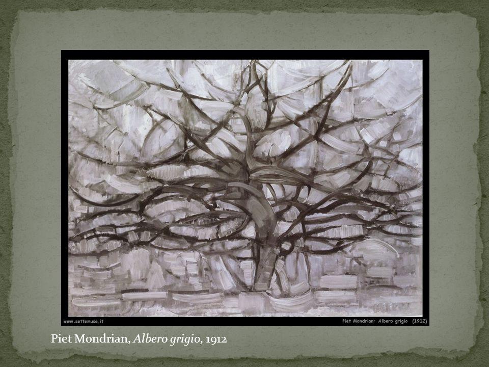 Piet Mondrian, Albero grigio, 1912