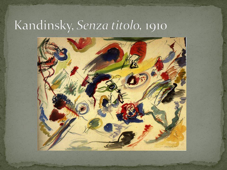 Kandinsky, Senza titolo, 1910