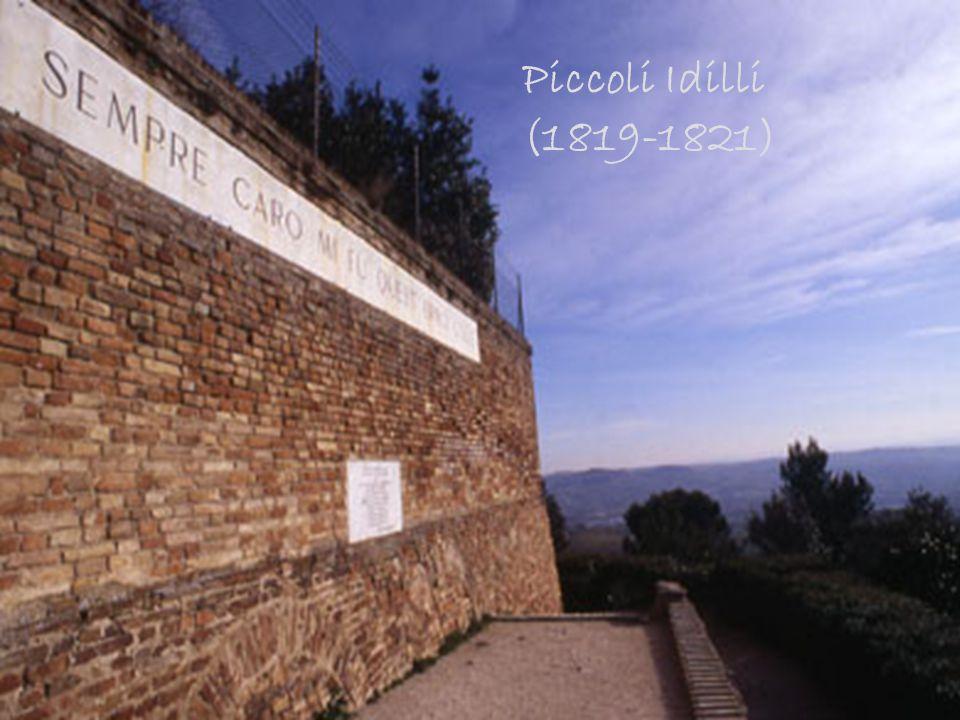 Piccoli Idilli (1819-1821)