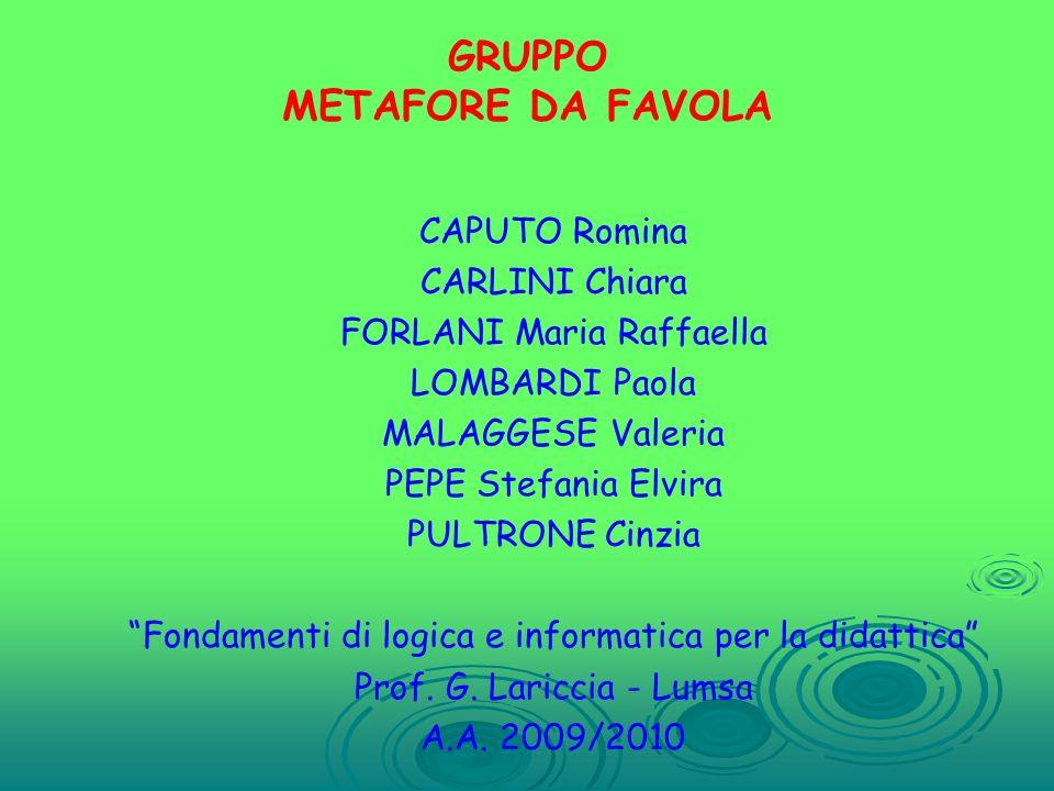 GRUPPO METAFORE DA FAVOLA
