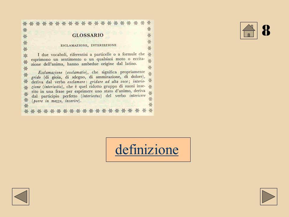 8 definizione