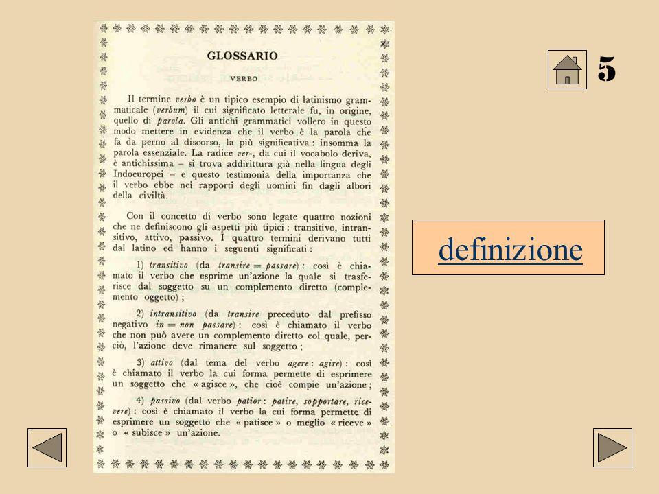 5 definizione