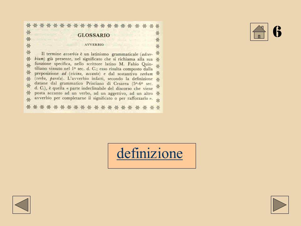 6 definizione