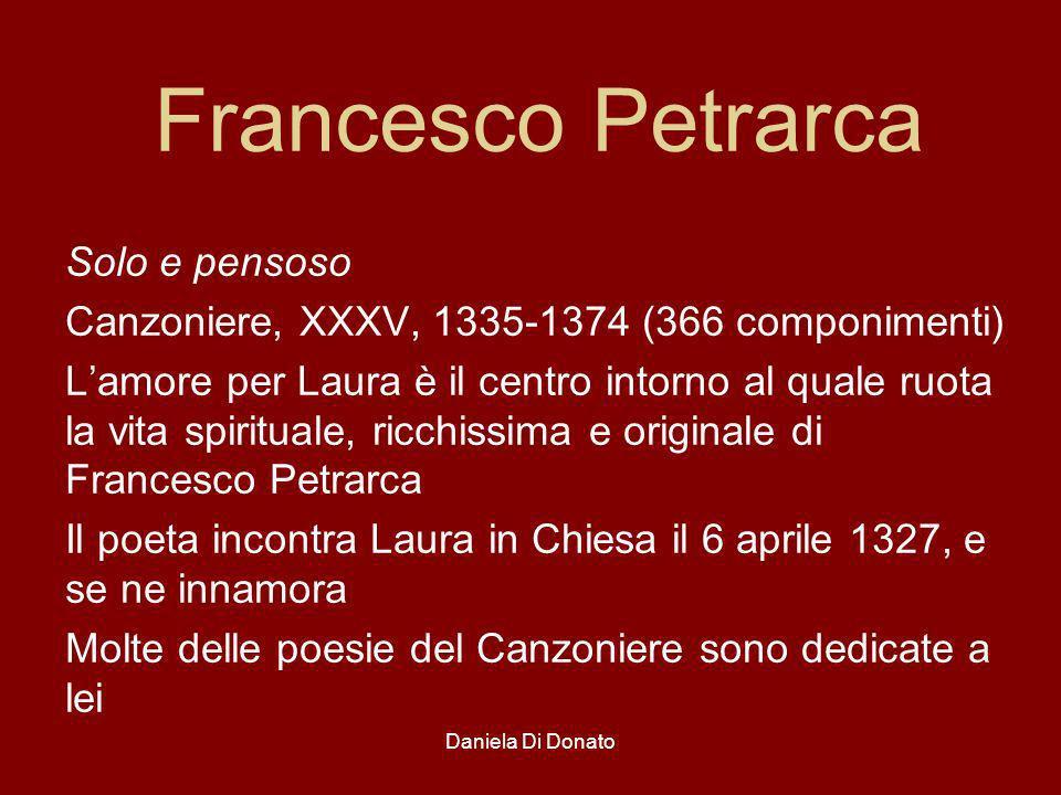 Francesco Petrarca Solo e pensoso