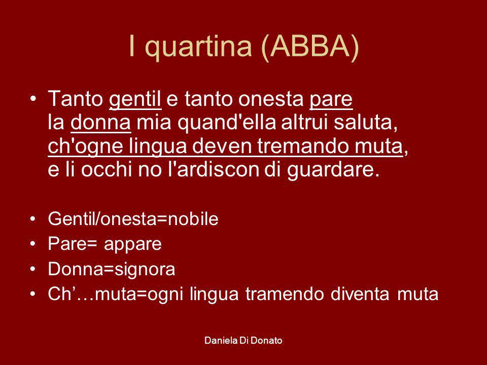 I quartina (ABBA)