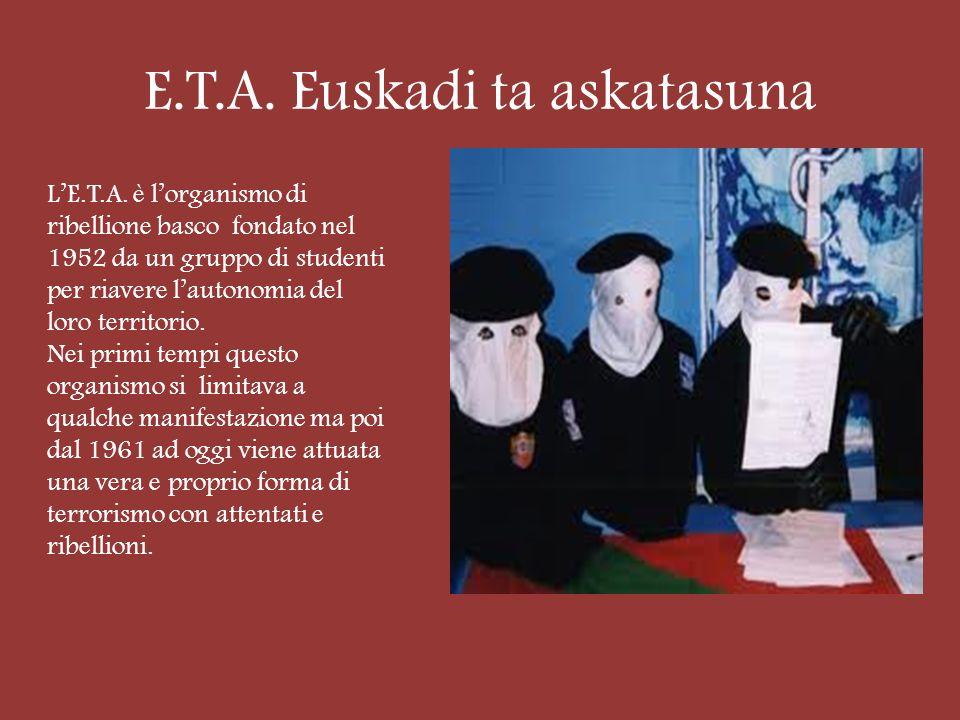 E.T.A. Euskadi ta askatasuna