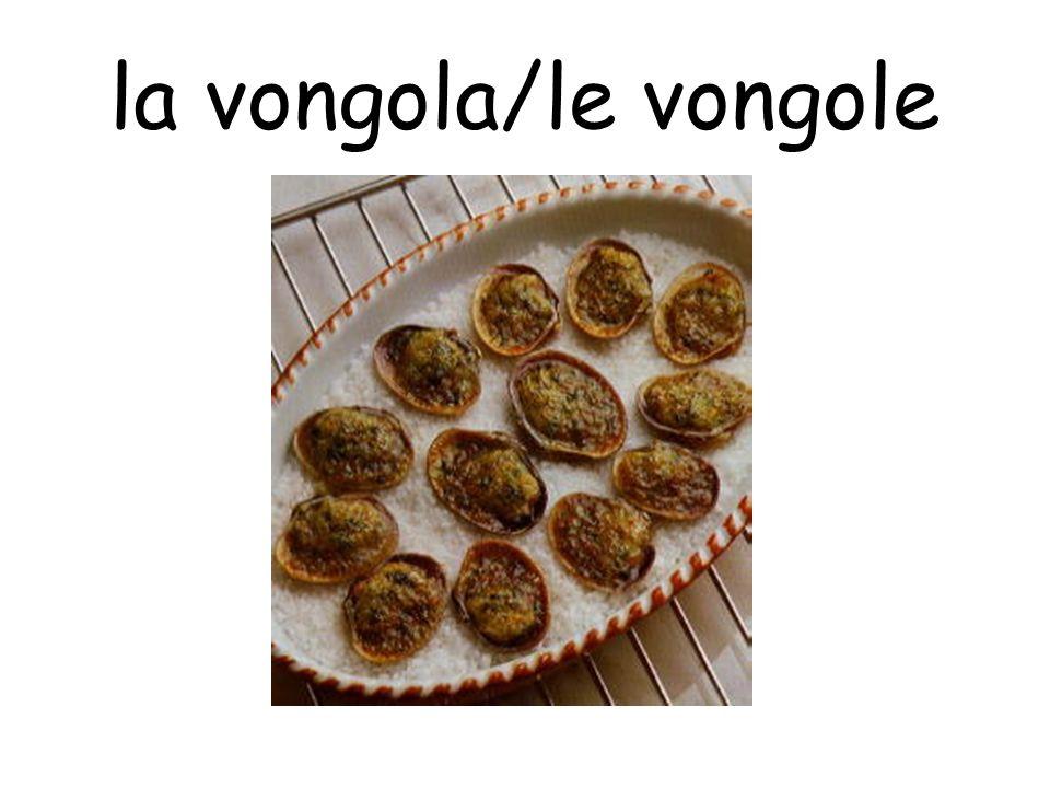 la vongola/le vongole