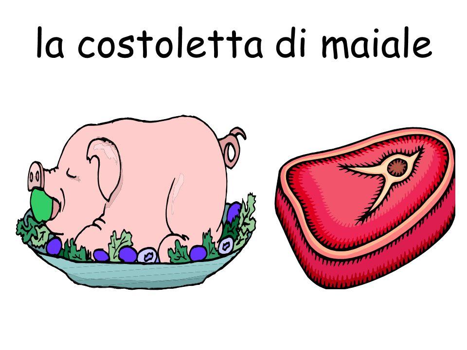 la costoletta di maiale