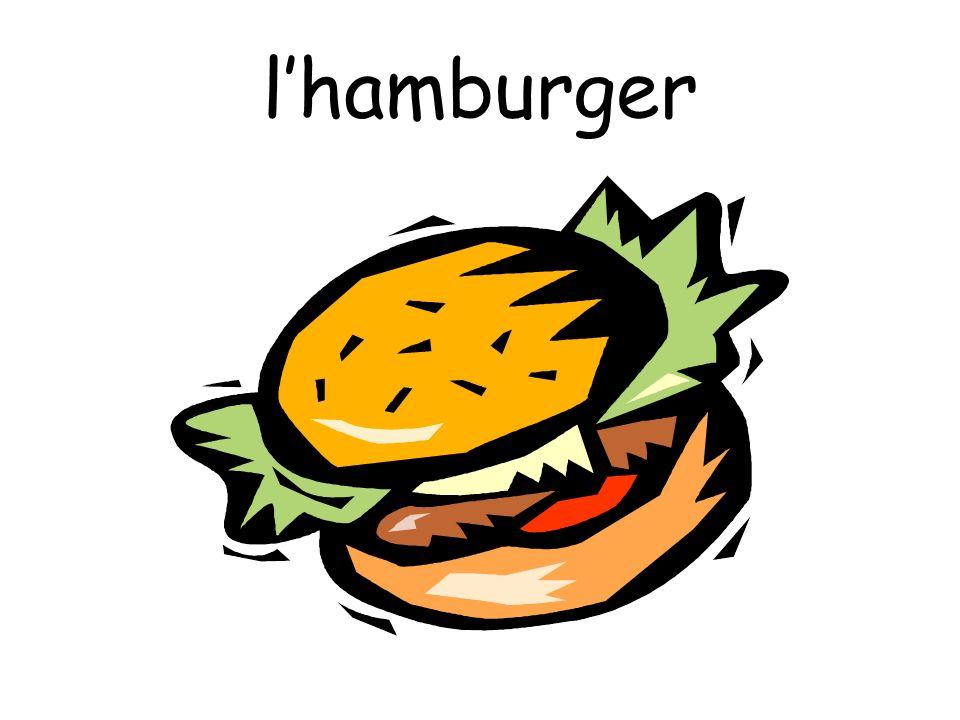 l'hamburger