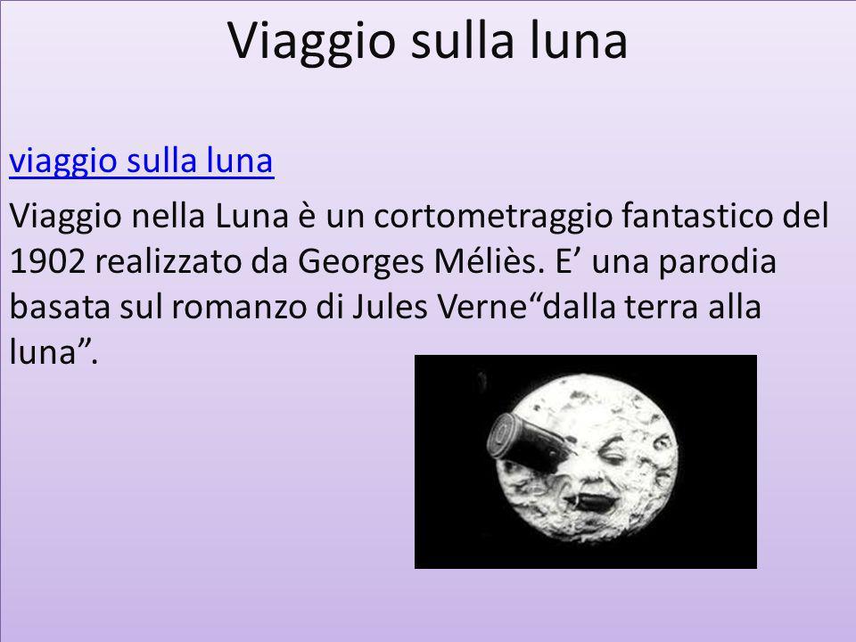 Viaggio sulla luna viaggio sulla luna