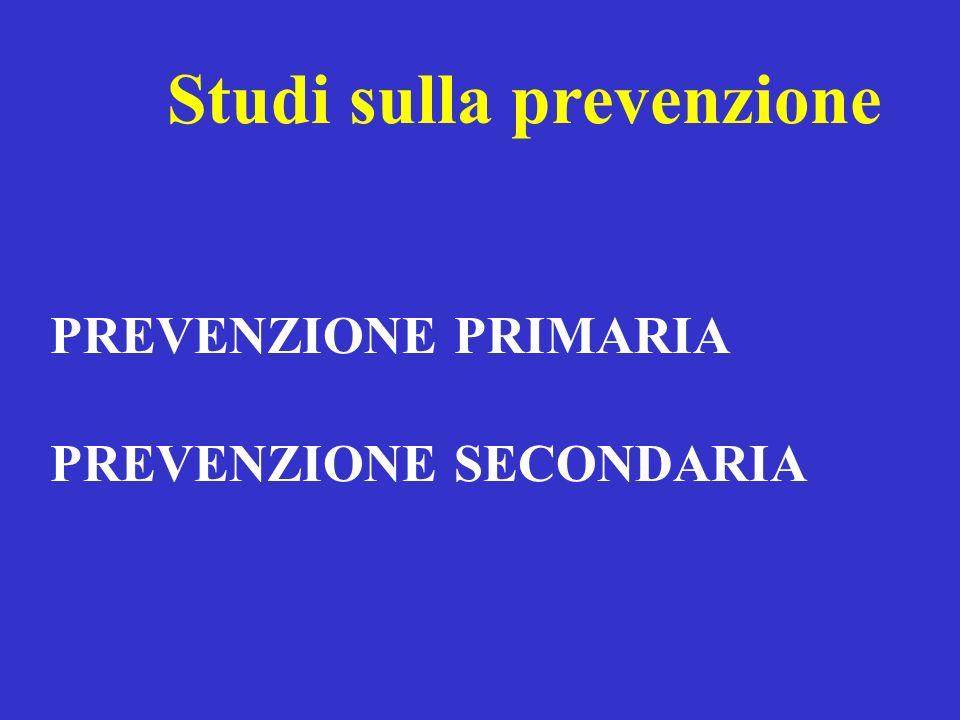 Studi sulla prevenzione