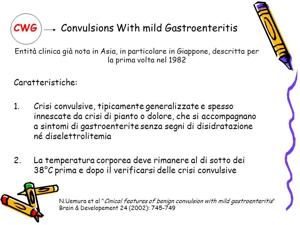 CWG Convulsions With mild Gastroenteritis