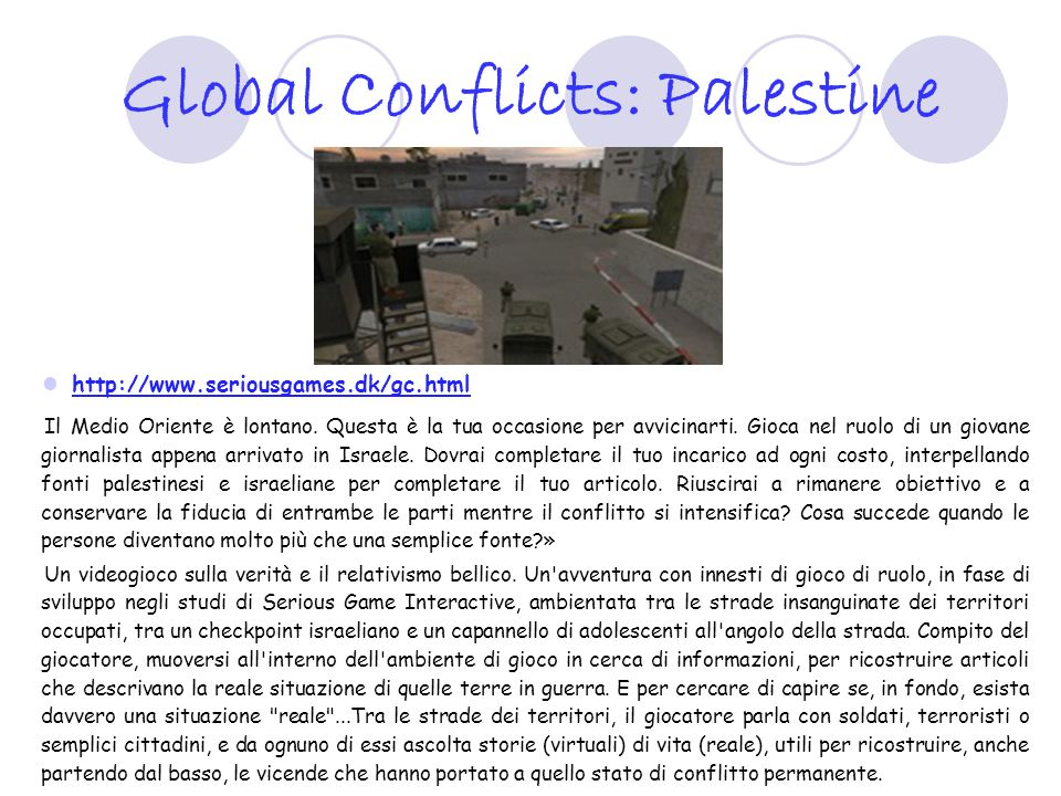 Global Conflicts: Palestine