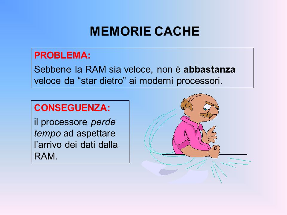 MEMORIE CACHE PROBLEMA: