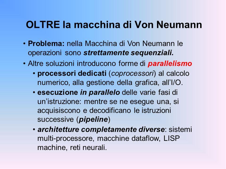 OLTRE la macchina di Von Neumann
