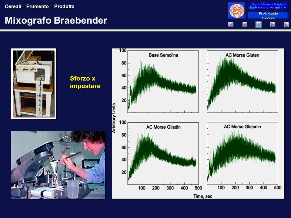 Mixografo Braebender Sforzo x impastare Prof. Guido Baldoni
