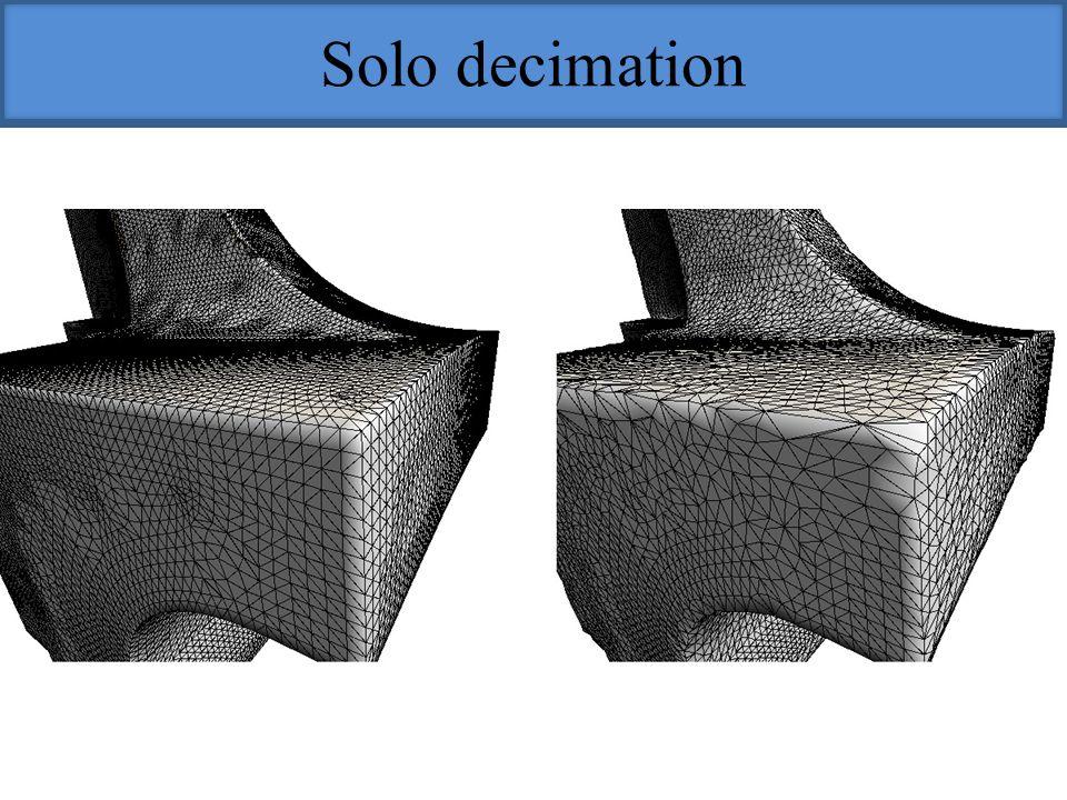 Solo decimation