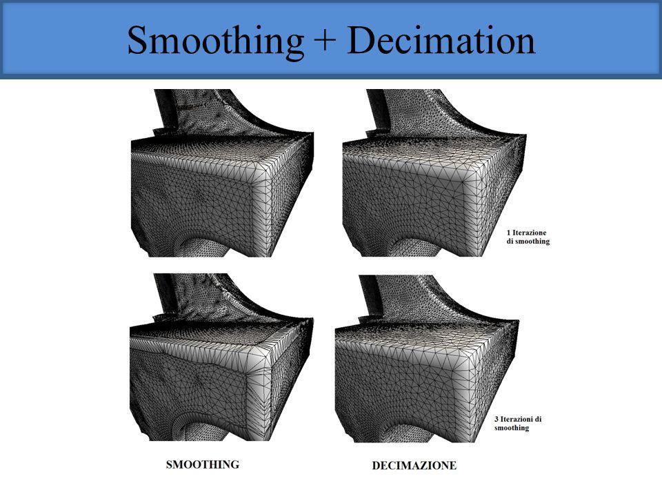 Smoothing + Decimation