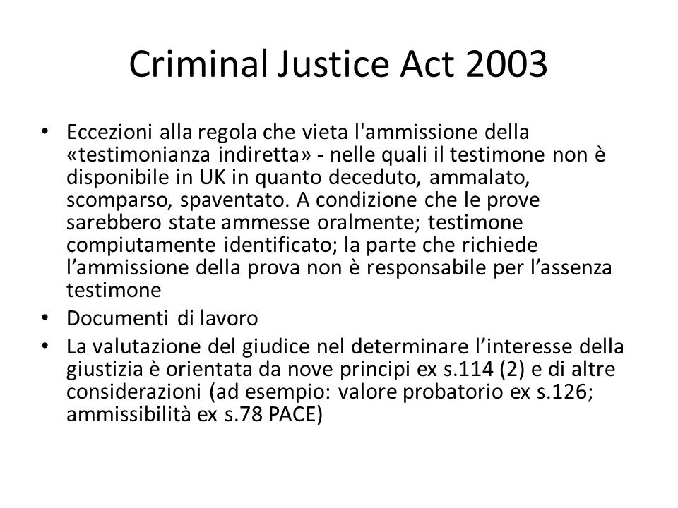 Criminal Justice Act 2003