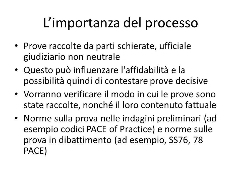 L'importanza del processo