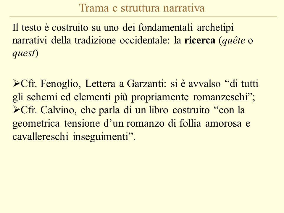 Trama e struttura narrativa