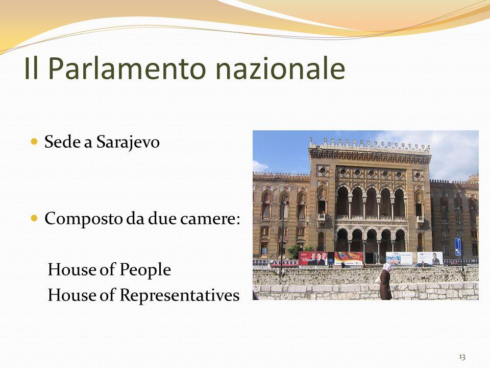 Il Parlamento nazionale
