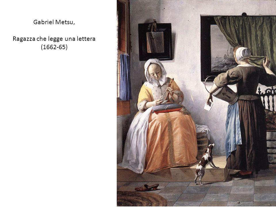 Ragazza che legge una lettera (1662-65)