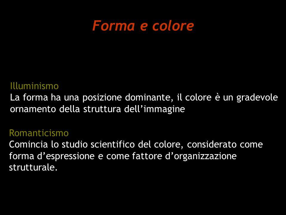 Forma e colore Illuminismo