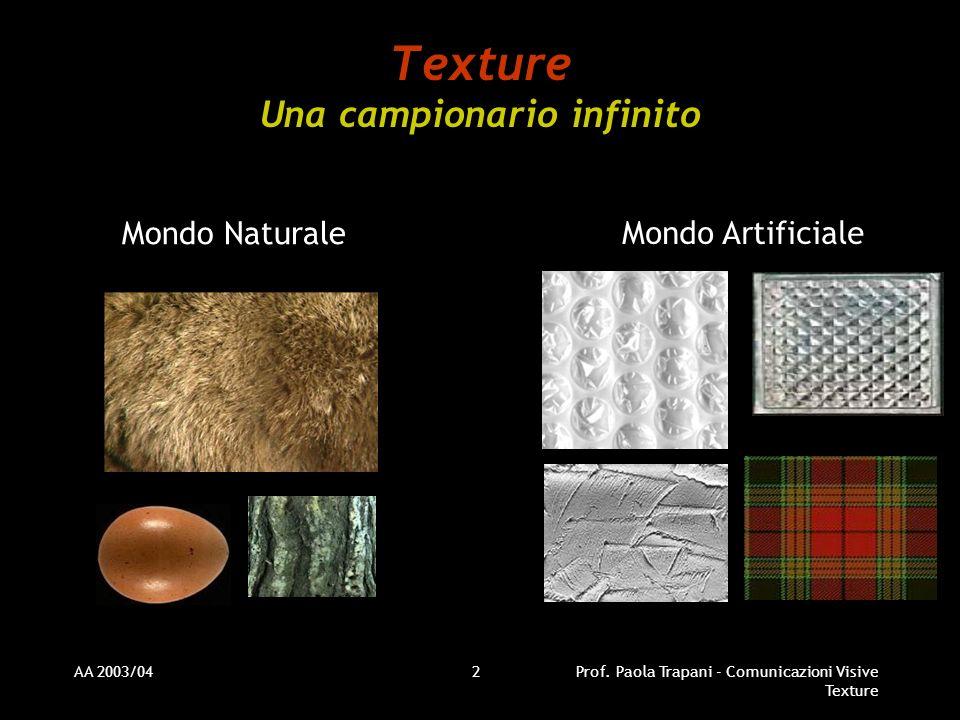 Texture Una campionario infinito