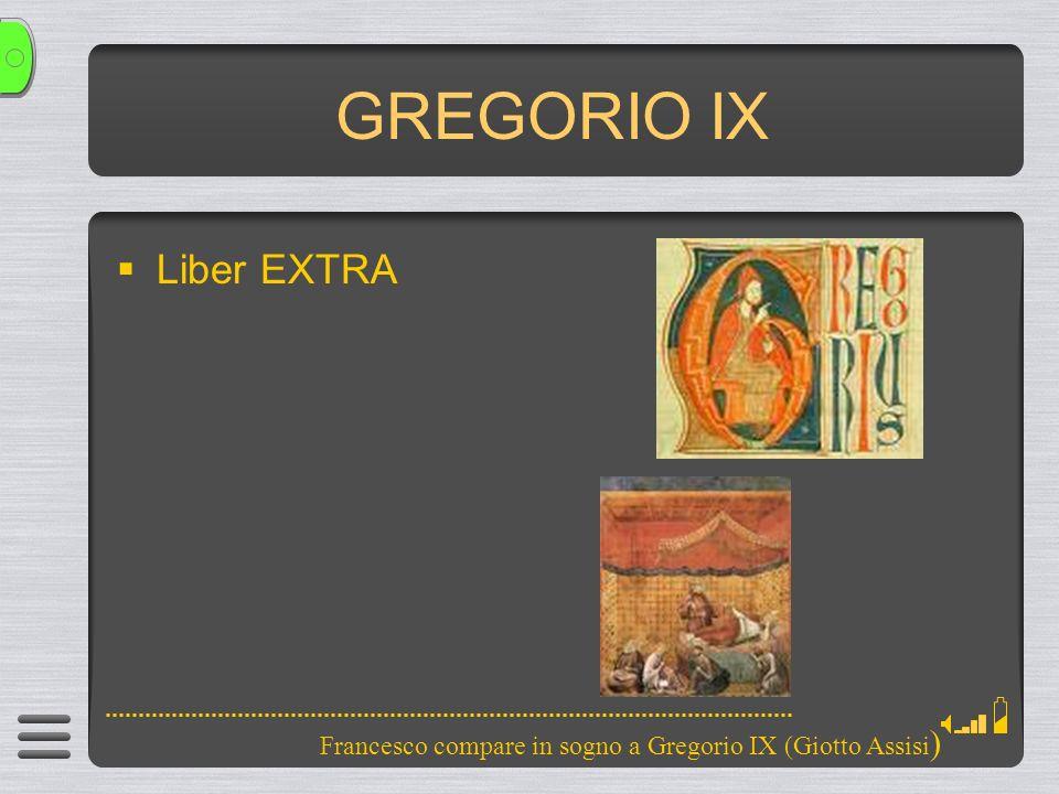 GREGORIO IX Liber EXTRA