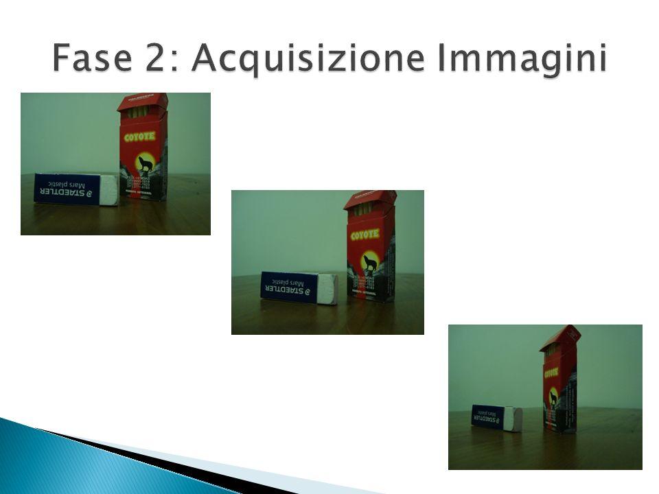 Fase 2: Acquisizione Immagini