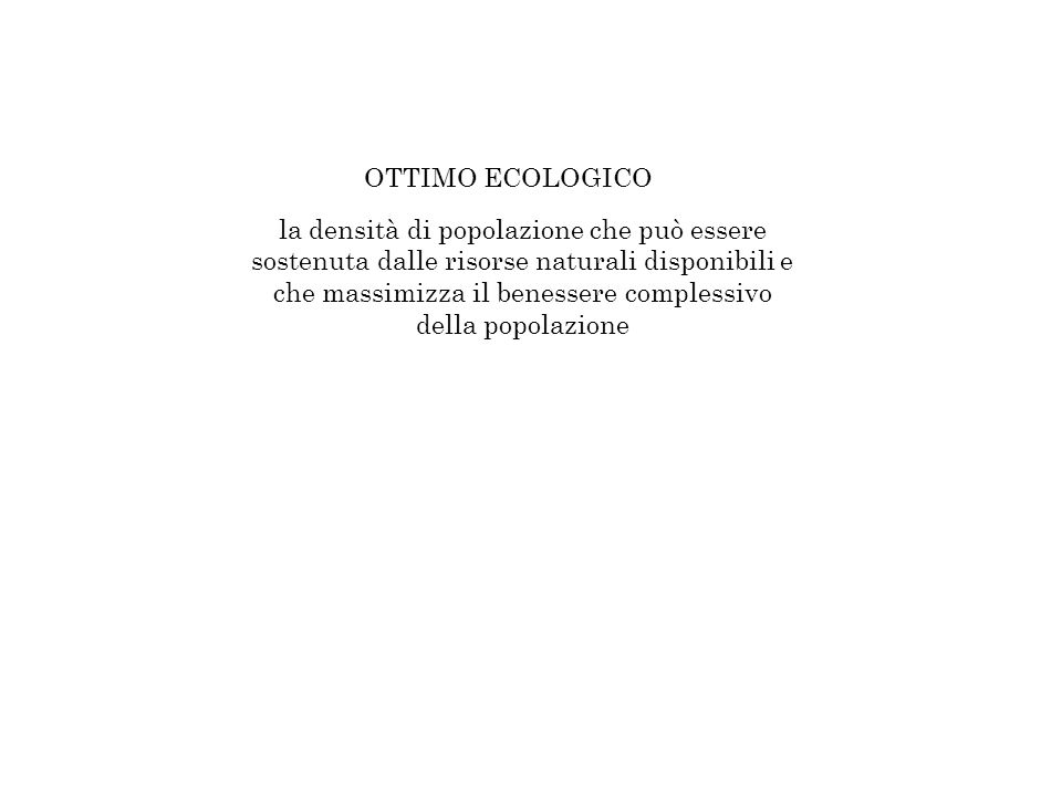 OTTIMO ECOLOGICO